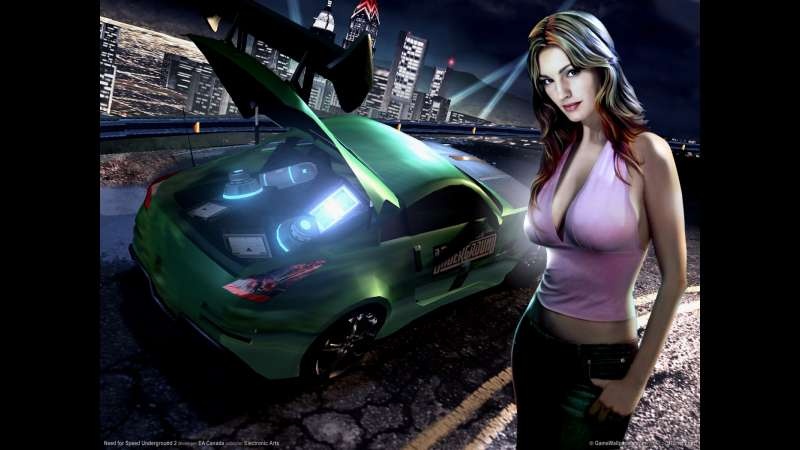 Need for Speed Underground 2 wallpaper or background 03