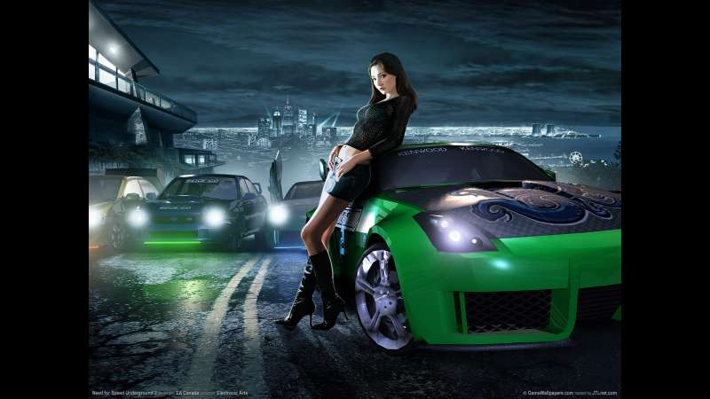 Need for Speed Underground 2 wallpaper or background 04