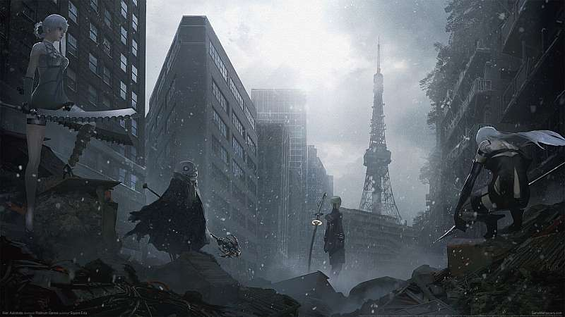 Nier Automata wallpaper or background