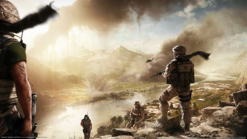 Operation Flashpoint: Red River wallpaper or background 06