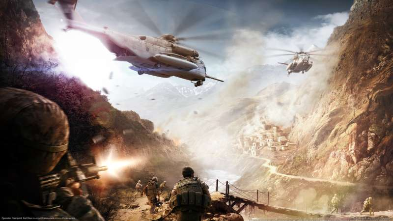 Operation Flashpoint: Red River wallpaper or background 08