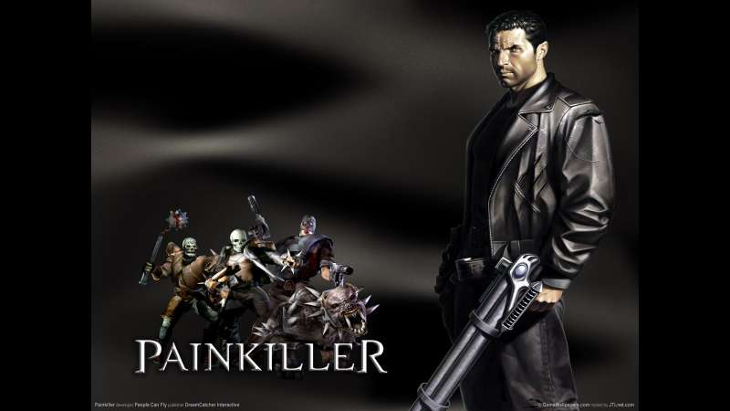 Painkiller wallpaper or background 01
