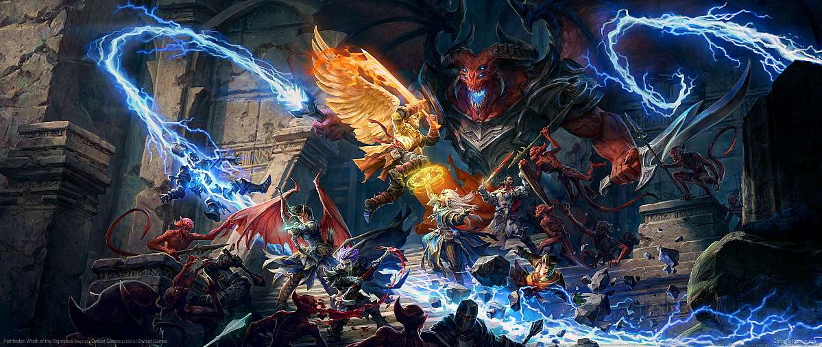 Pathfinder: Wrath of the Righteous wallpaper or background