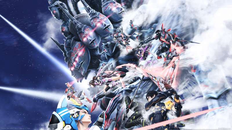 Phantasy Star Online 2 wallpaper or background 01