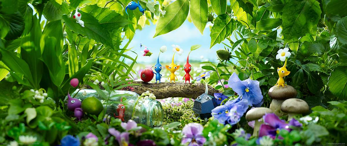 Pikmin 3 wallpaper or background