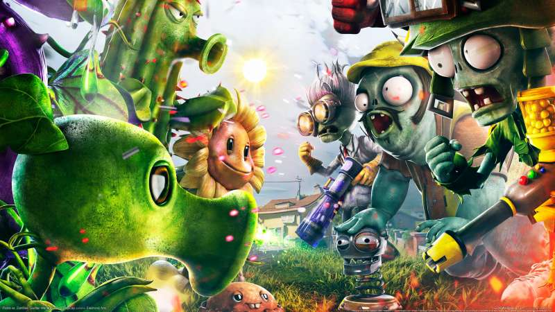 Plants vs. Zombies: Garden Warfare wallpaper or background 01