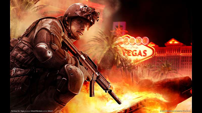 Rainbow Six: Vegas wallpaper or background
