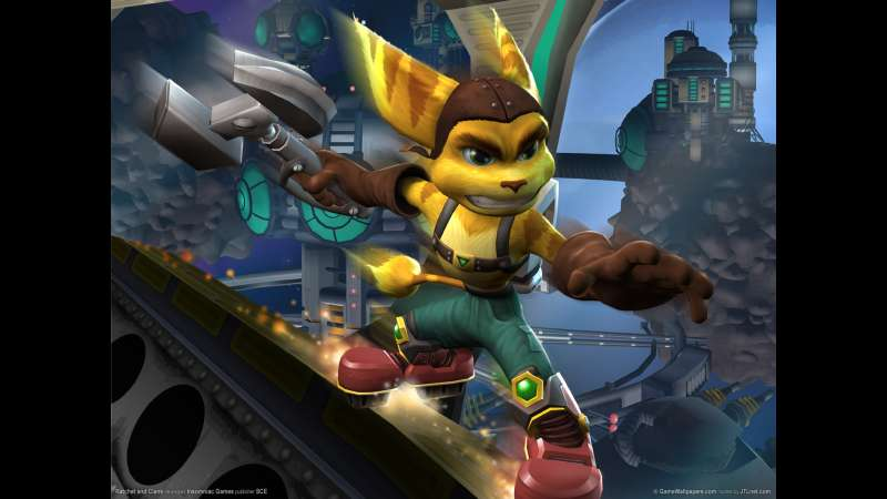 Ratchet and Clank wallpaper or background 01