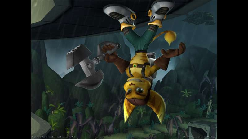 Ratchet and Clank wallpaper or background 02