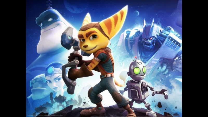 Ratchet and Clank wallpaper or background 03