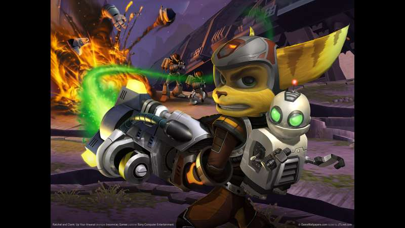 Ratchet and Clank: Up Your Arsenal wallpaper or background 01
