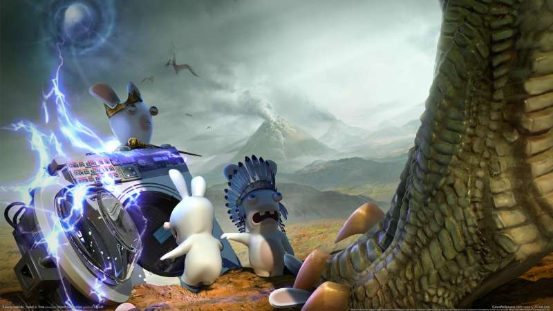 Raving Rabbids: Travel in Time wallpaper or background 01