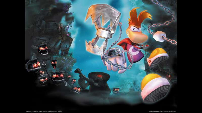 Rayman 3: Hoodlum Havoc wallpaper or background 03