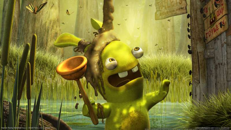 Rayman Raving Rabbids 2 wallpaper or background 01