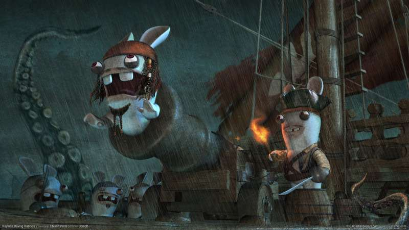 Rayman Raving Rabbids 2 wallpaper or background 03