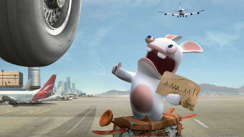 Rayman Raving Rabbids 2 wallpaper or background 04