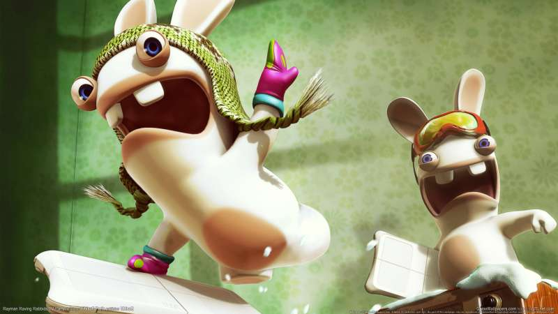 Rayman Raving Rabbids TV Party wallpaper or background 02