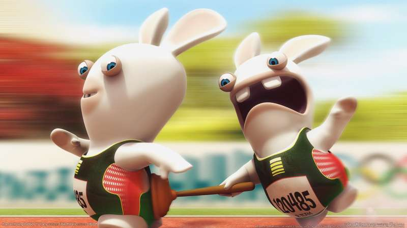 Rayman Raving Rabbids TV Party wallpaper or background 03