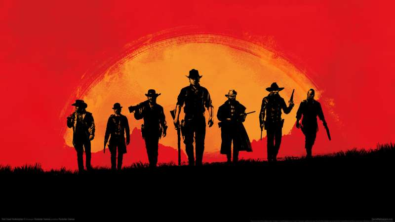 Red Dead Redemption 2 wallpaper or background 01