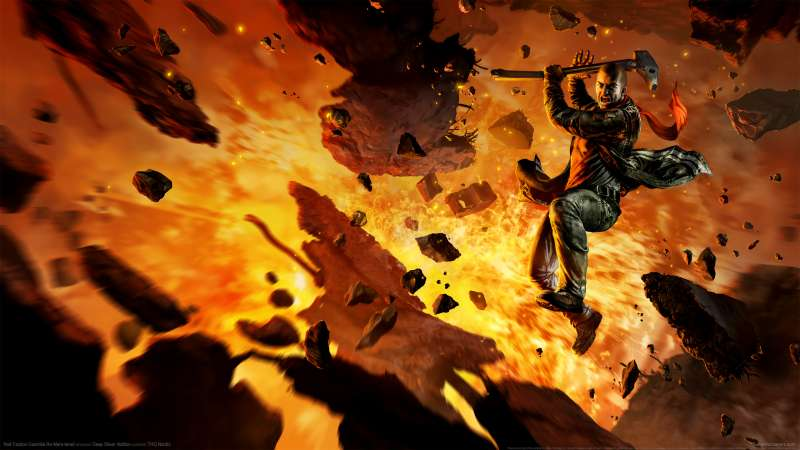 Red Faction: Guerrilla Re-Mars-tered wallpaper or background 01