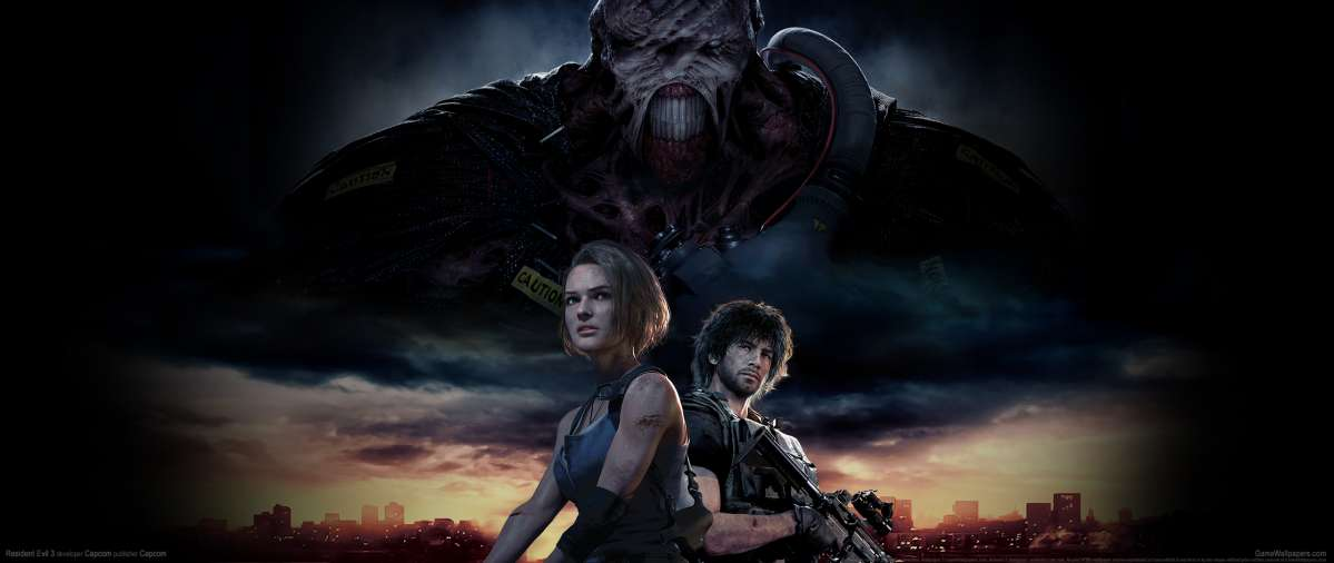 Resident Evil 3 2020 wallpaper or background