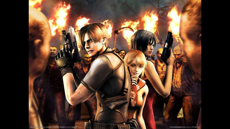 Resident Evil 4 wallpaper or background 06
