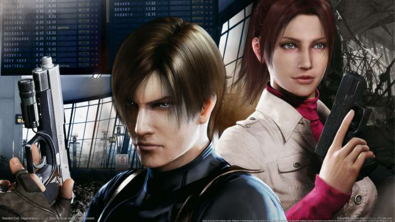 Resident Evil: Degeneration wallpaper or background 03