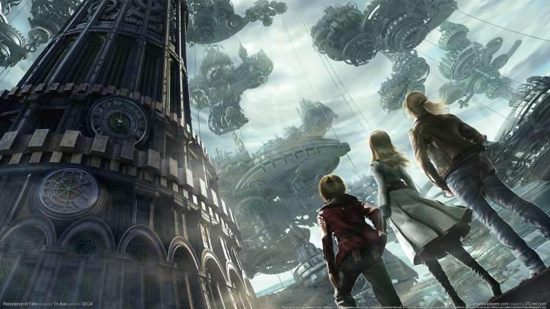 Resonance of Fate wallpaper or background 01
