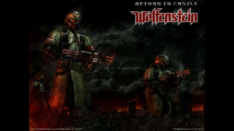 Return to Castle Wolfenstein wallpaper or background 02