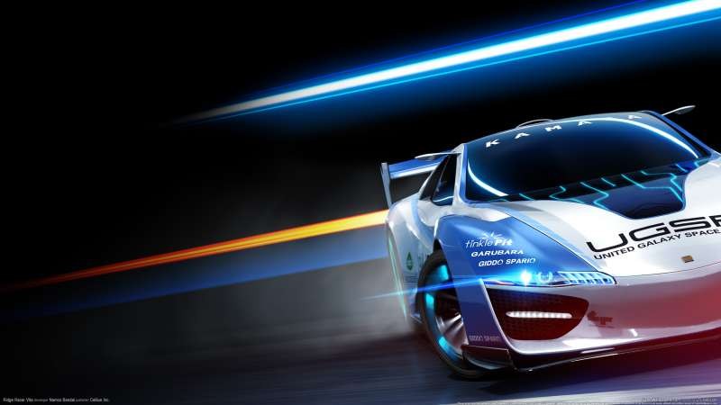Ridge Racer Vita wallpaper or background 01