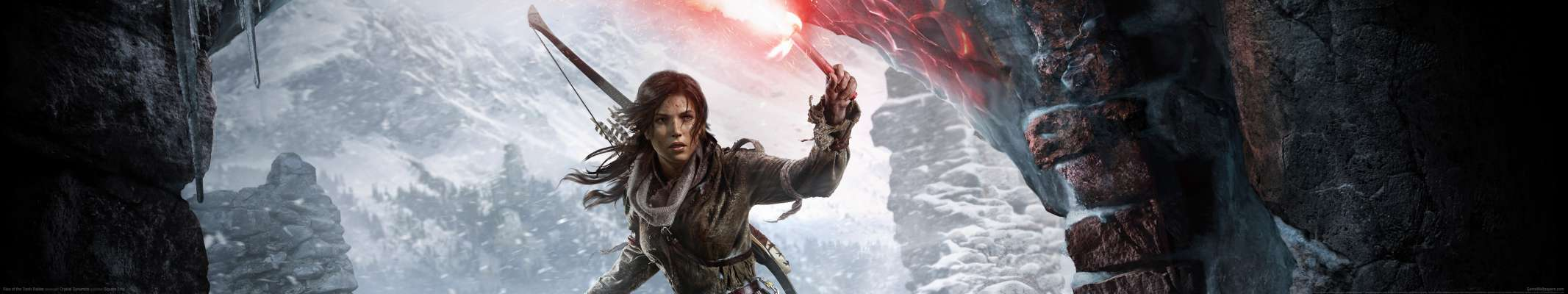Rise of the Tomb Raider triple screen wallpaper or background