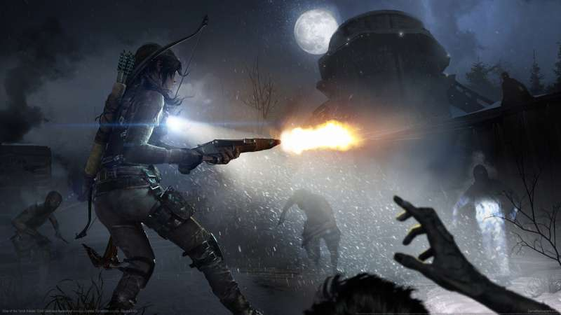 Rise of the Tomb Raider: Cold Darkness Awakened wallpaper or background