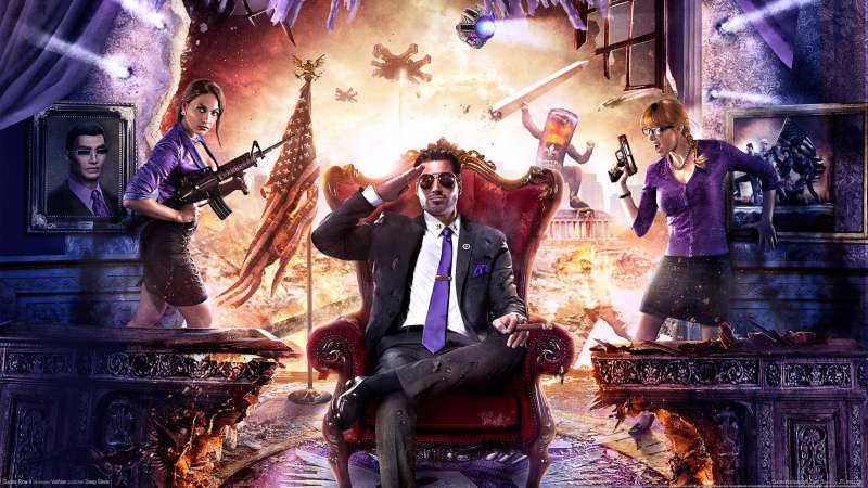 Saints Row 4 wallpaper or background 02