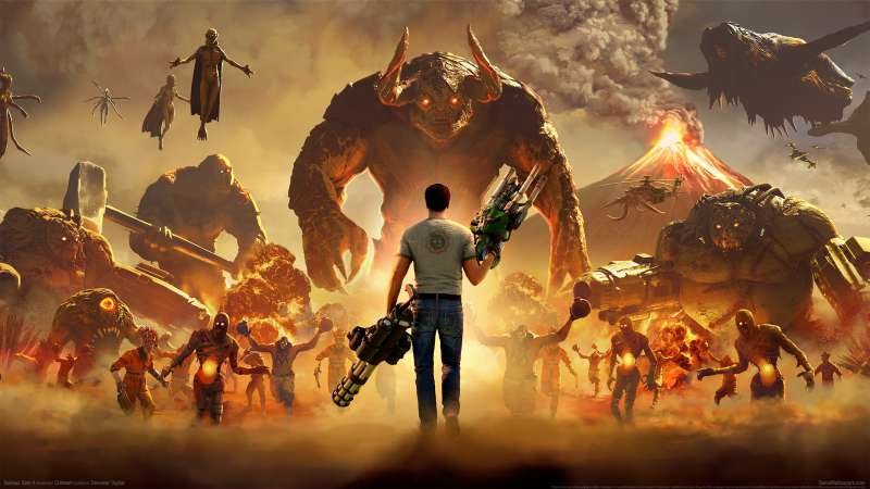 Serious Sam 4 wallpaper or background 01