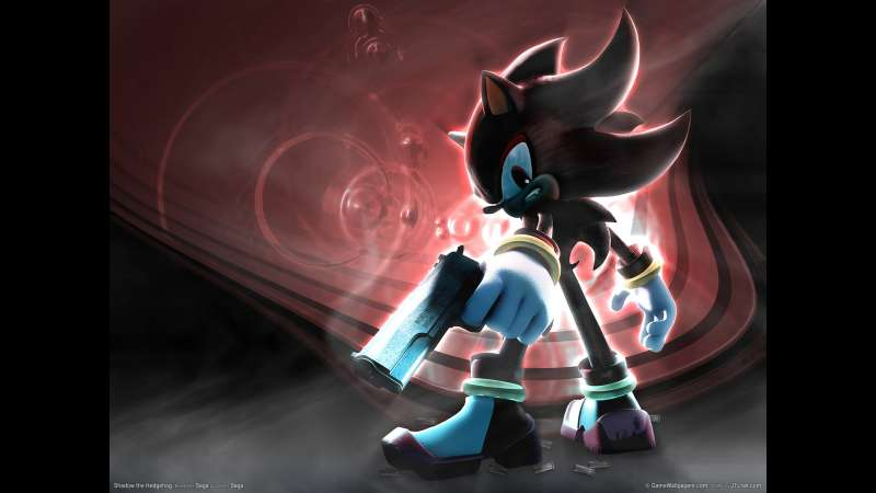 Shadow the Hedgehog wallpaper or background 01