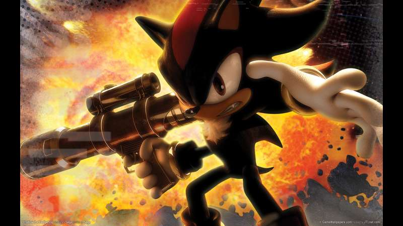 Shadow the Hedgehog wallpaper or background 02
