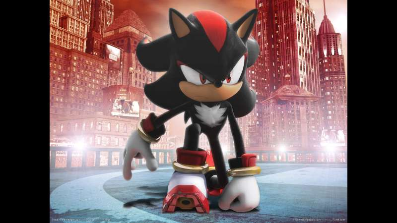 Shadow the Hedgehog wallpaper or background 03