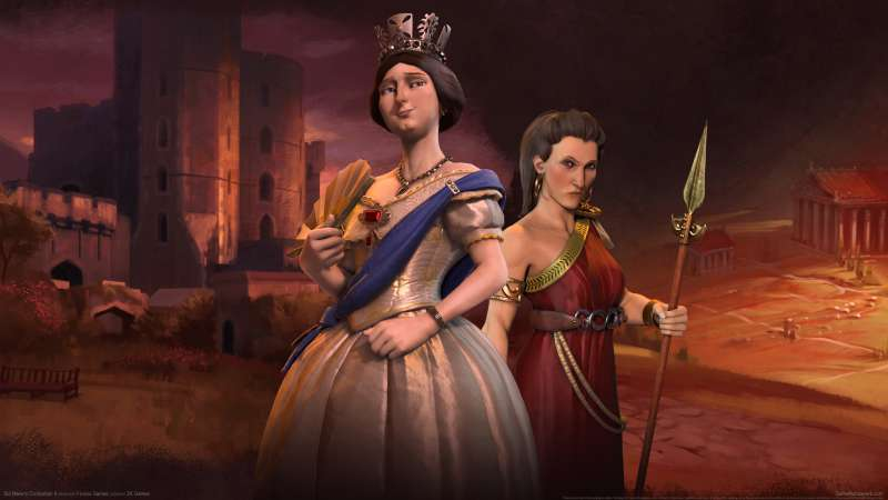 Sid Meier's Civilization 6 wallpaper or background
