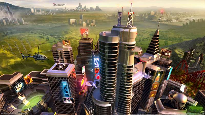 SimCity wallpaper or background 03
