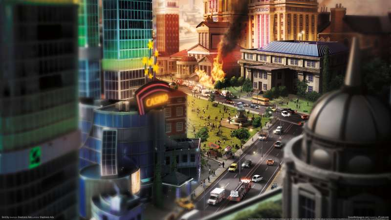 SimCity wallpaper or background 04