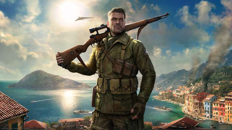 Sniper Elite 4 wallpaper or background