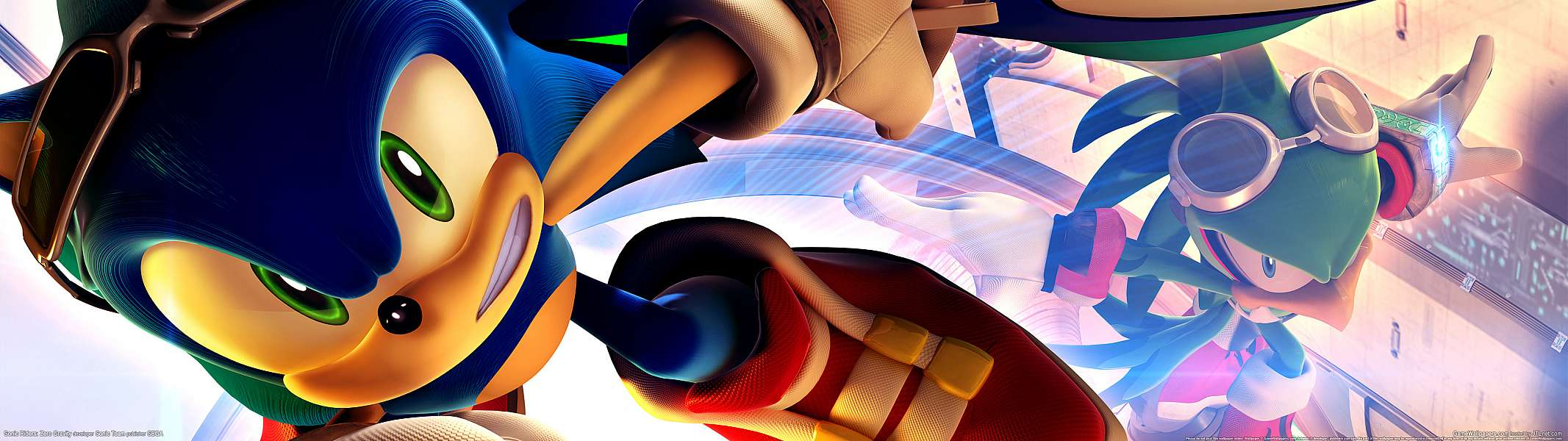 Sonic Riders: Zero Gravity dual screen wallpaper or background