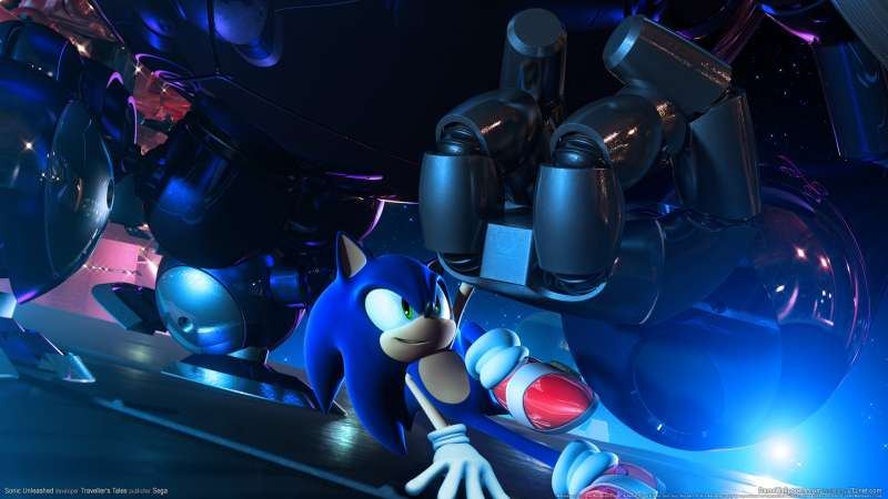 Sonic Unleashed wallpaper or background 01