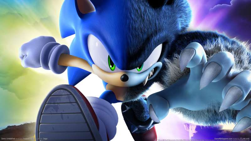 Sonic Unleashed wallpaper or background 02