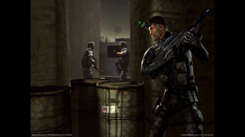 Splinter Cell wallpaper or background 01