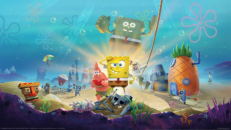 SpongeBob SquarePants: Battle for Bikini Bottom - Rehydrated wallpaper or background