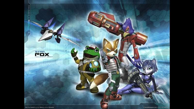 Star Fox Assault wallpaper or background 01