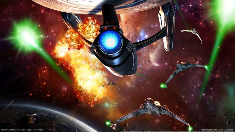 Star Trek Online wallpaper or background 02