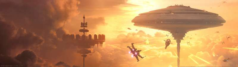 Star Wars - Battlefront: Bespin dual screen wallpaper or background