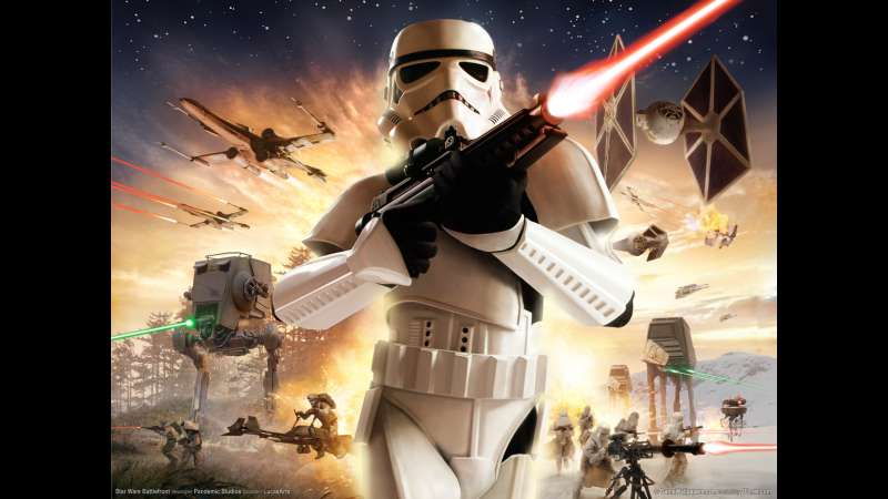 Star Wars Battlefront wallpaper or background 01